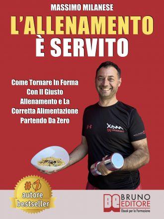 """Massimo Milanese: Bestseller """"L'allenamento è servito"""", il libro per raggiungere uno stato fisico ottimale"""